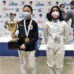 Esgrimista veracruzana obtiene bronce en competencia internacional